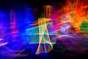 Light Paintings (Abstract Light Photography) By Peter Smolenski