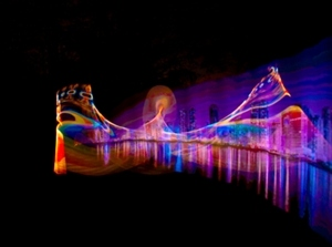 Pixelstick Light Paintings By Peter Smolenski