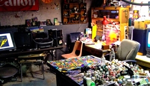 A behind the scenes look at Peter Smolenski Artist and other nonsense.